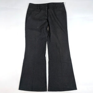 New York & Company Flare Size 10 Charcoal Pants